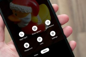 Aplikasi Google Camera Screenshot - Woiden