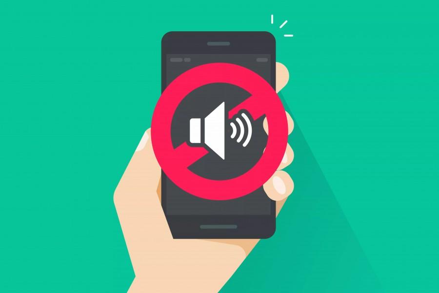 Menghapus Suara Mute Smartphone - Woiden