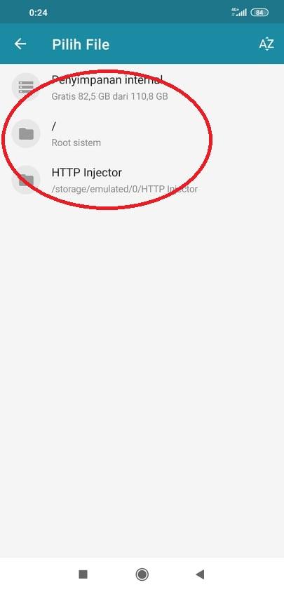 Impor Config HTTP Injector