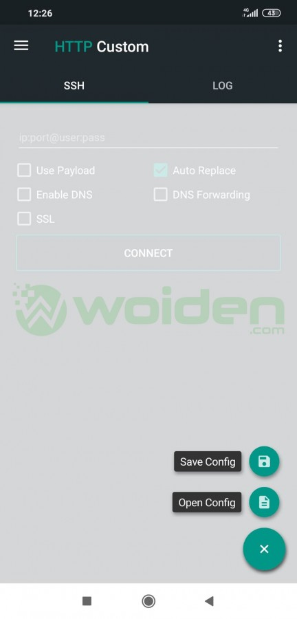 setting http custom
