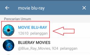 download film mudah di telegram