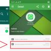 melihat chat yang dihapus pada whatsapp