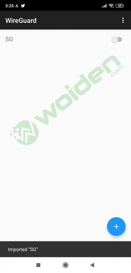 setting wireguard di android