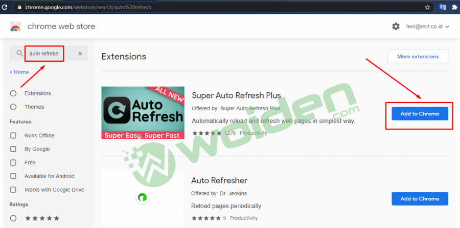 auto refresh browser extension