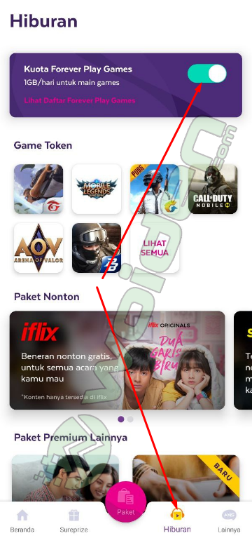 Paket Forever Play Games Axis