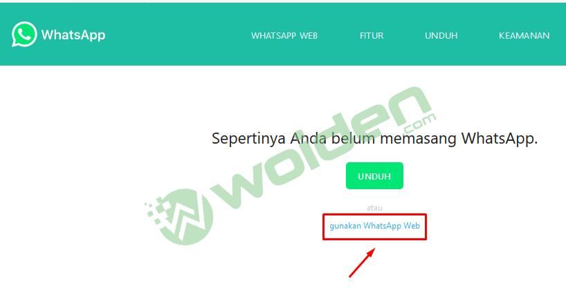 whatsapp web tanpa save nomor