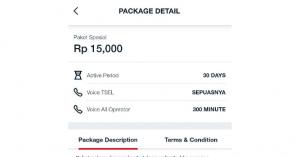 Paket Nelpon Unlimited 15k 30 Hari Telkomsel