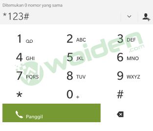 Dial Paket Kartu Tri