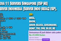 Jual Akun SSH OpenVPN Softether and Wireguard