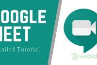 Cara Menggunakan Google Meet di HP dan PC