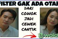 Filter Cowok Jadi Cewek Viral di TikTok dan IG