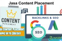Jasa Content Placement Traffic up to 28k/day